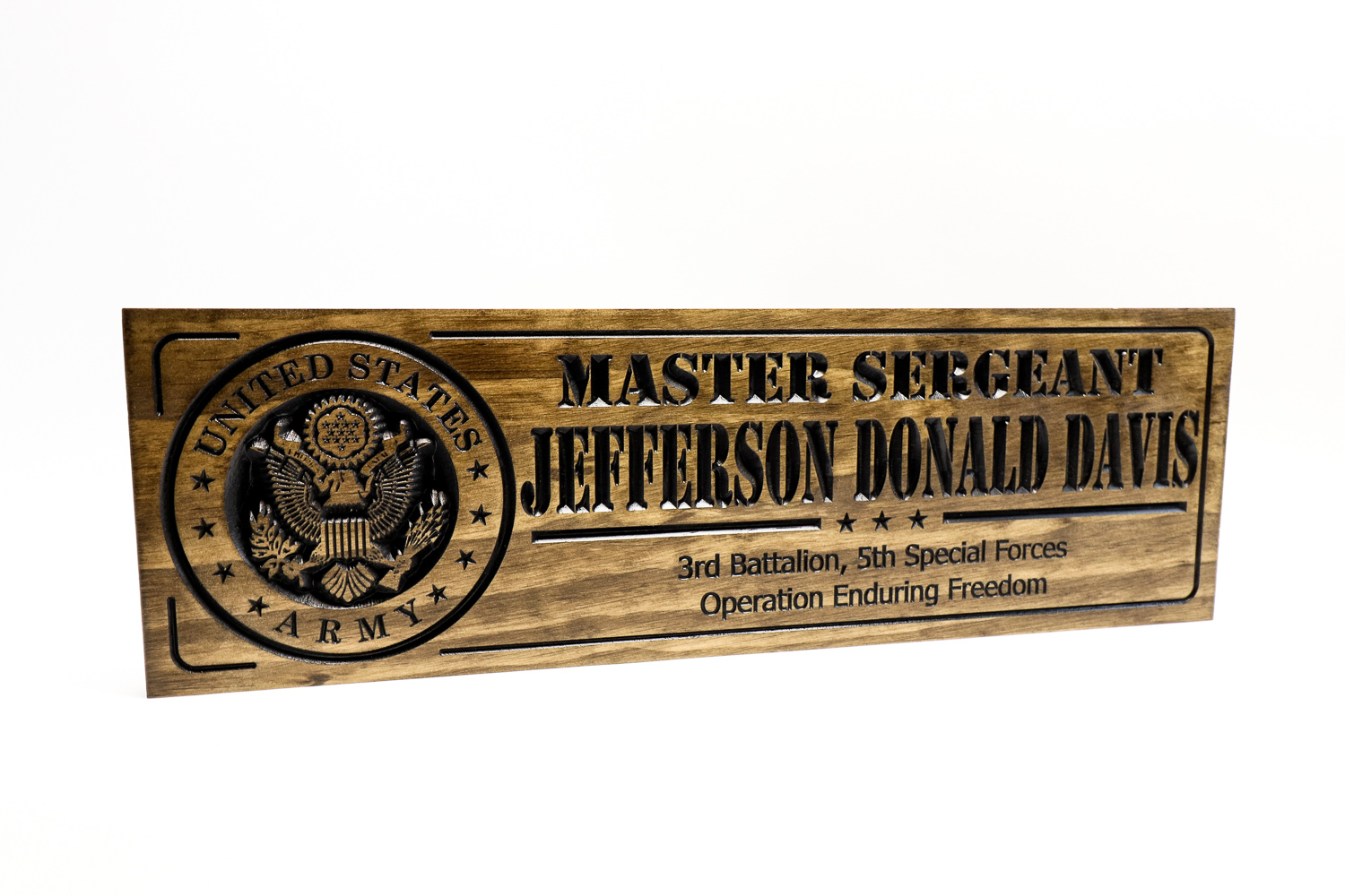 US Military plaques and Signs